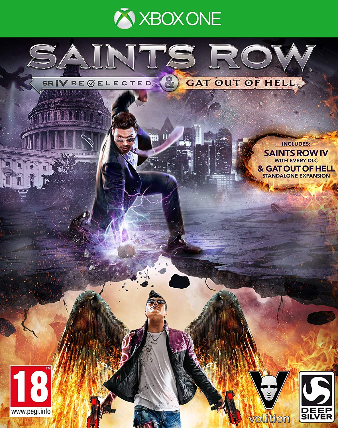 Saints Row IV Re Elected And Gat Out Of Hell - Xbox One Játékok