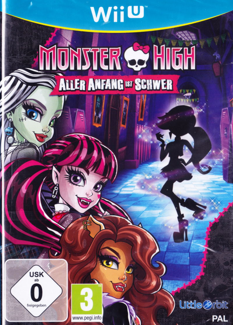 Monster High New Ghoul in School