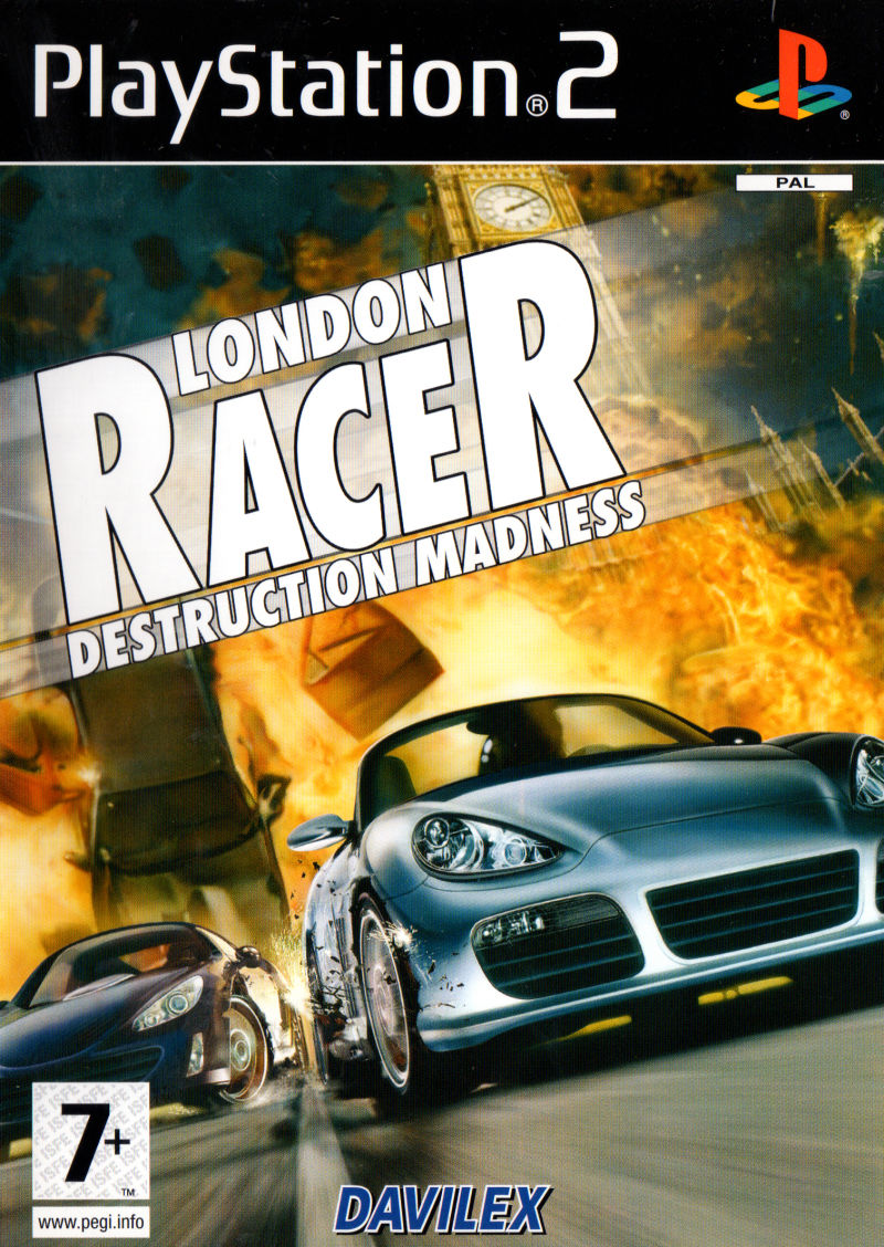 London Racer Destruction Madness - PlayStation 2 Játékok