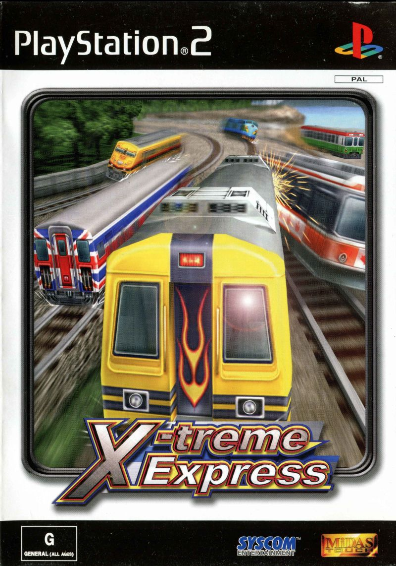 X treme Express World Grand Prix - PlayStation 2 Játékok