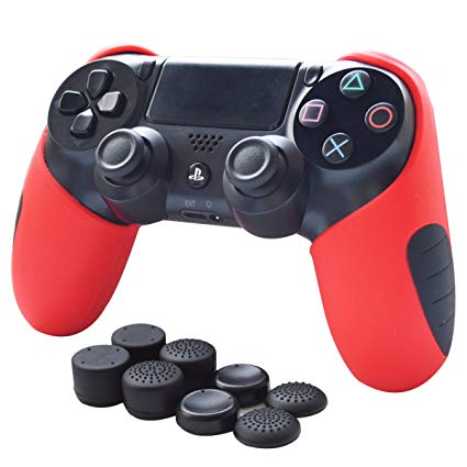 Silicon Controller Skin Red
