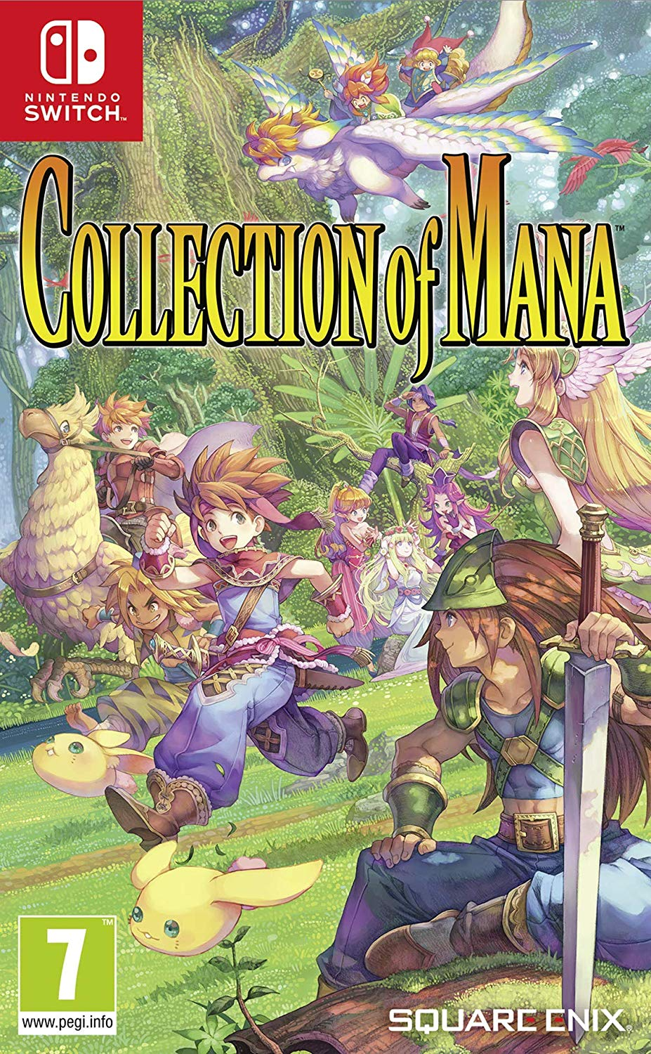 Collection of Mana - Nintendo Switch Játékok