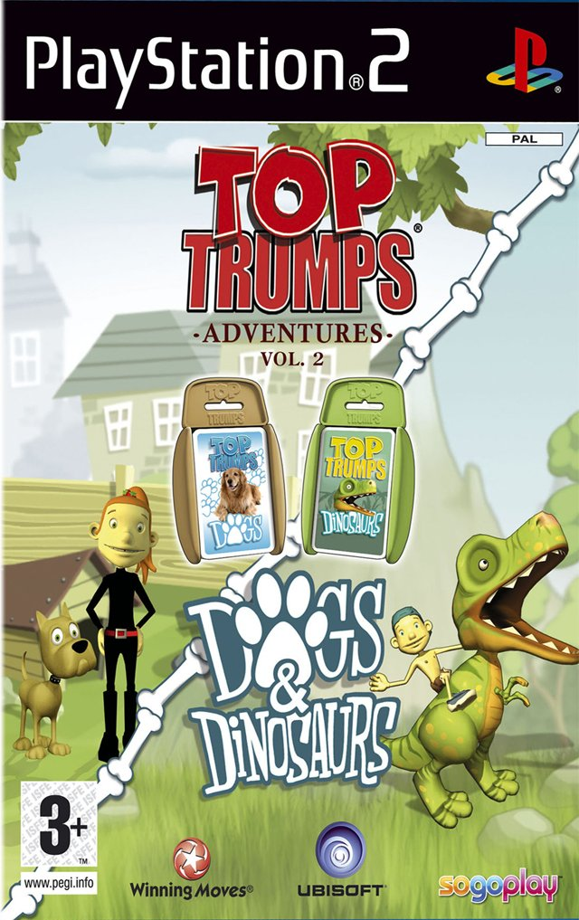 Top Trumps Dogs and Dinosaurs
