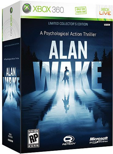Alan Wake Limited Collectors Edition