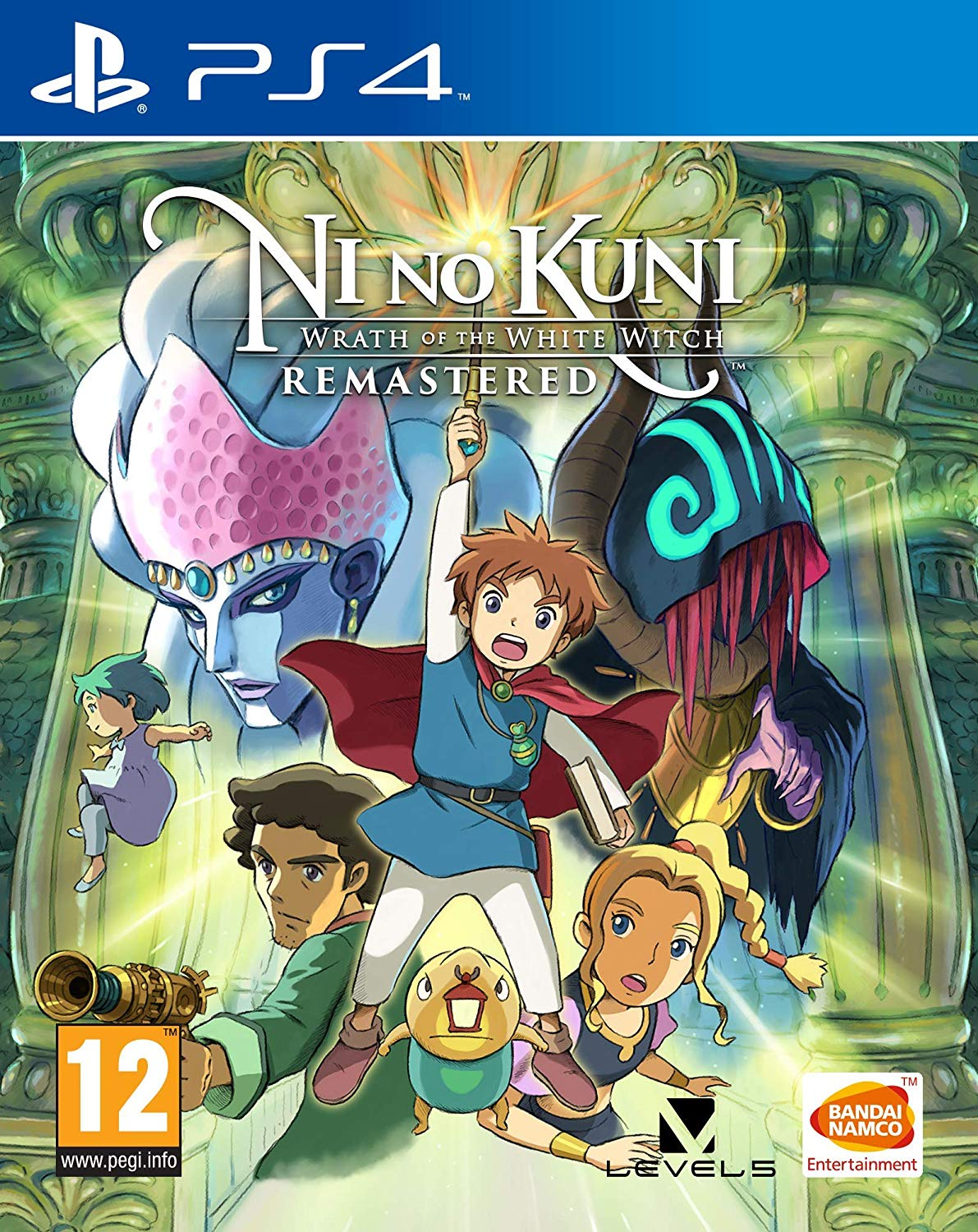 Ni no Kuni Wrath of the White Witch Remastered - PlayStation 4 Játékok