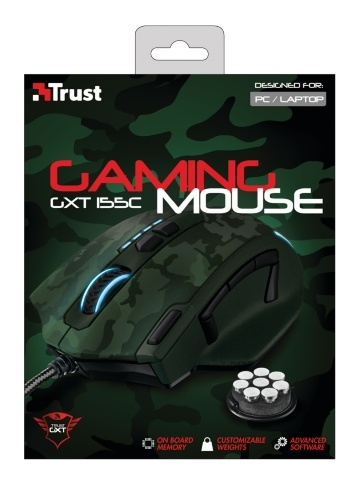 Trust Gaming Mouse GXT 155C