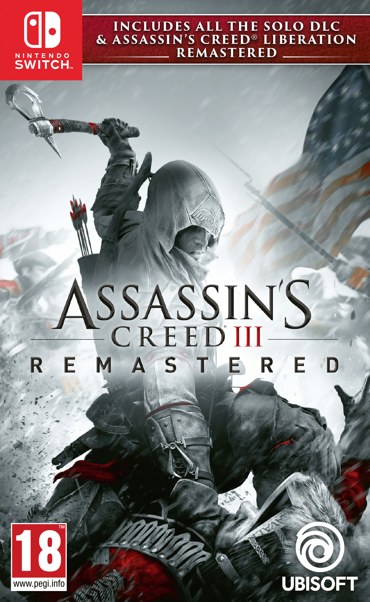 Assassins Creed III Remastered - Nintendo Switch Játékok
