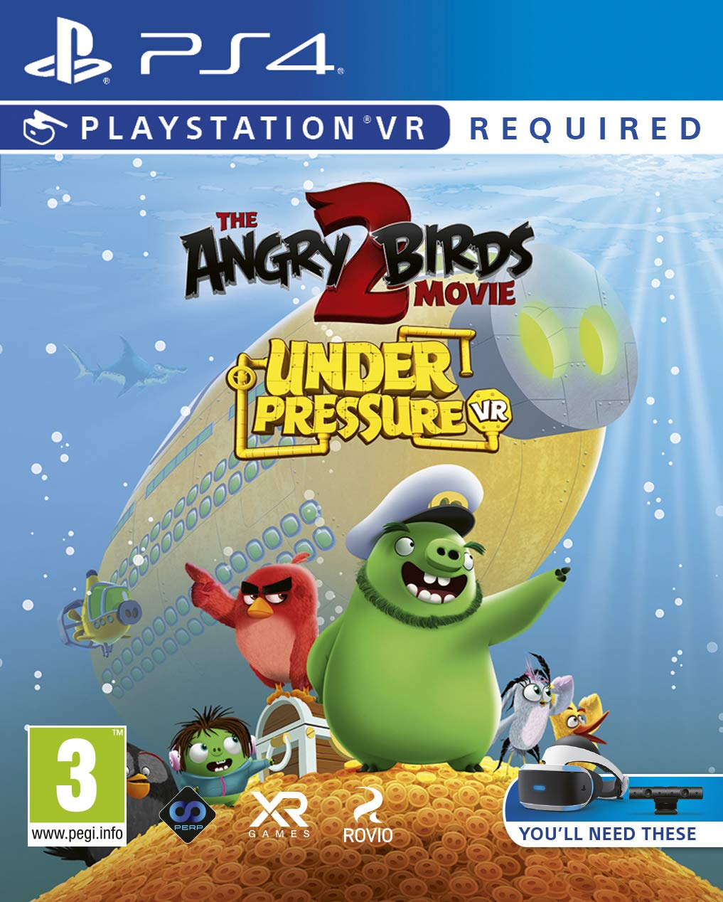 The Angry Birds Movie 2 VR Under Pressure