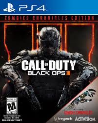 Call Of Duty Black Ops 3 Zombies Chronicles Edition