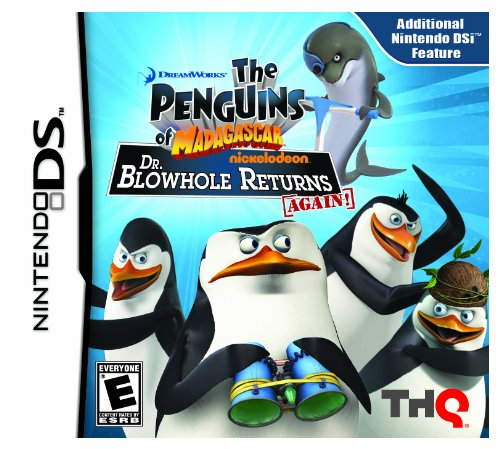 Dreamworks The Penguins of Madagascar Dr. Blowhole Returns Again - Nintendo DS Játékok