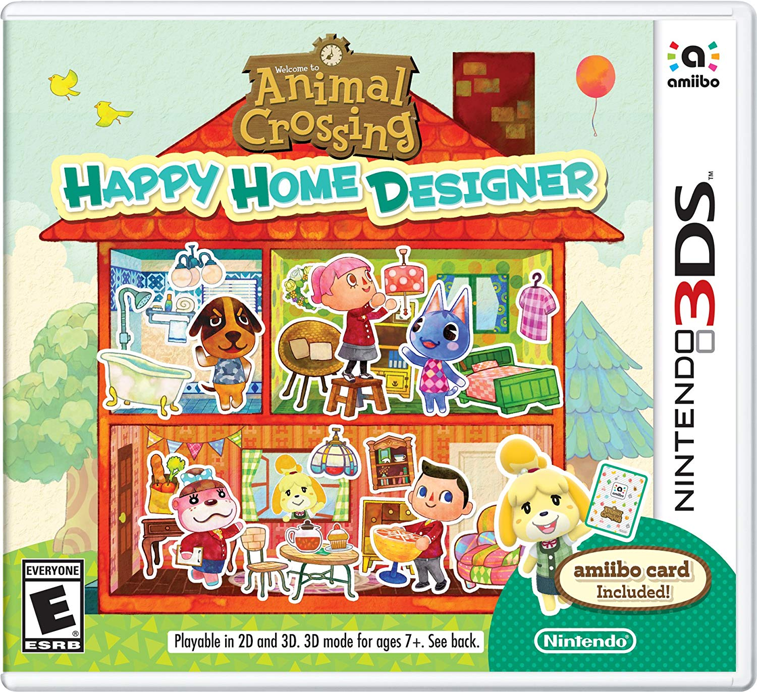 Animal Crossing Happy Home Designer - Nintendo 3DS Játékok