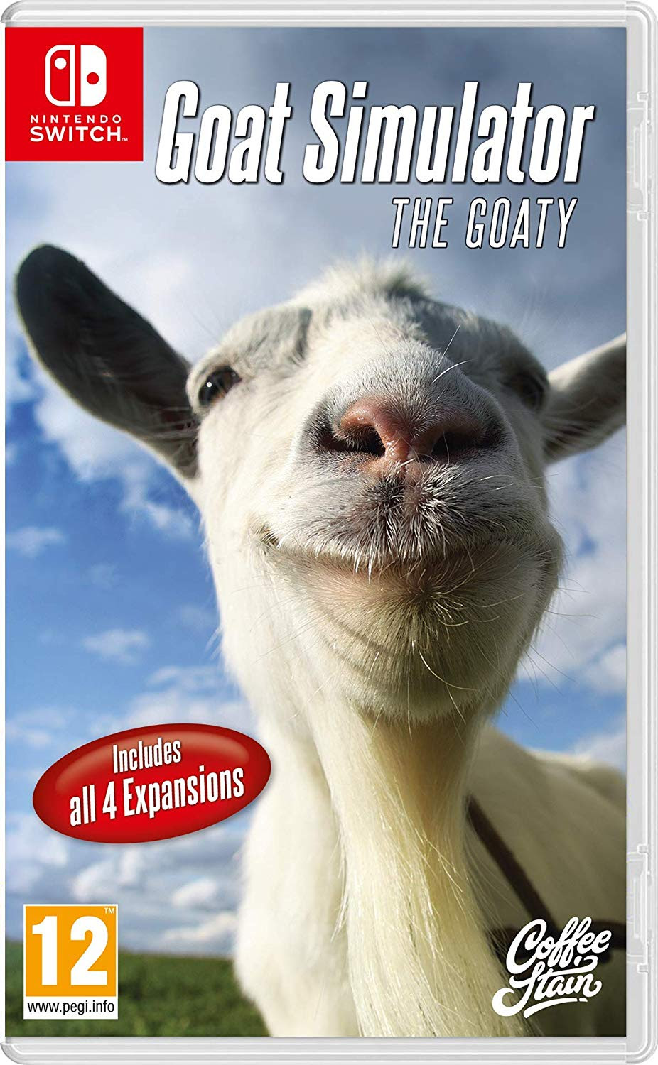 Goat Simulator The Goaty