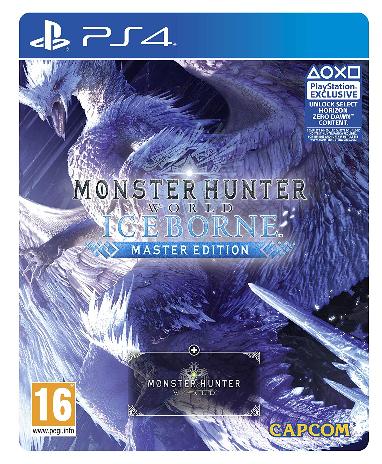 Monster Hunter World Iceborne Master Edition Steelbook Edition