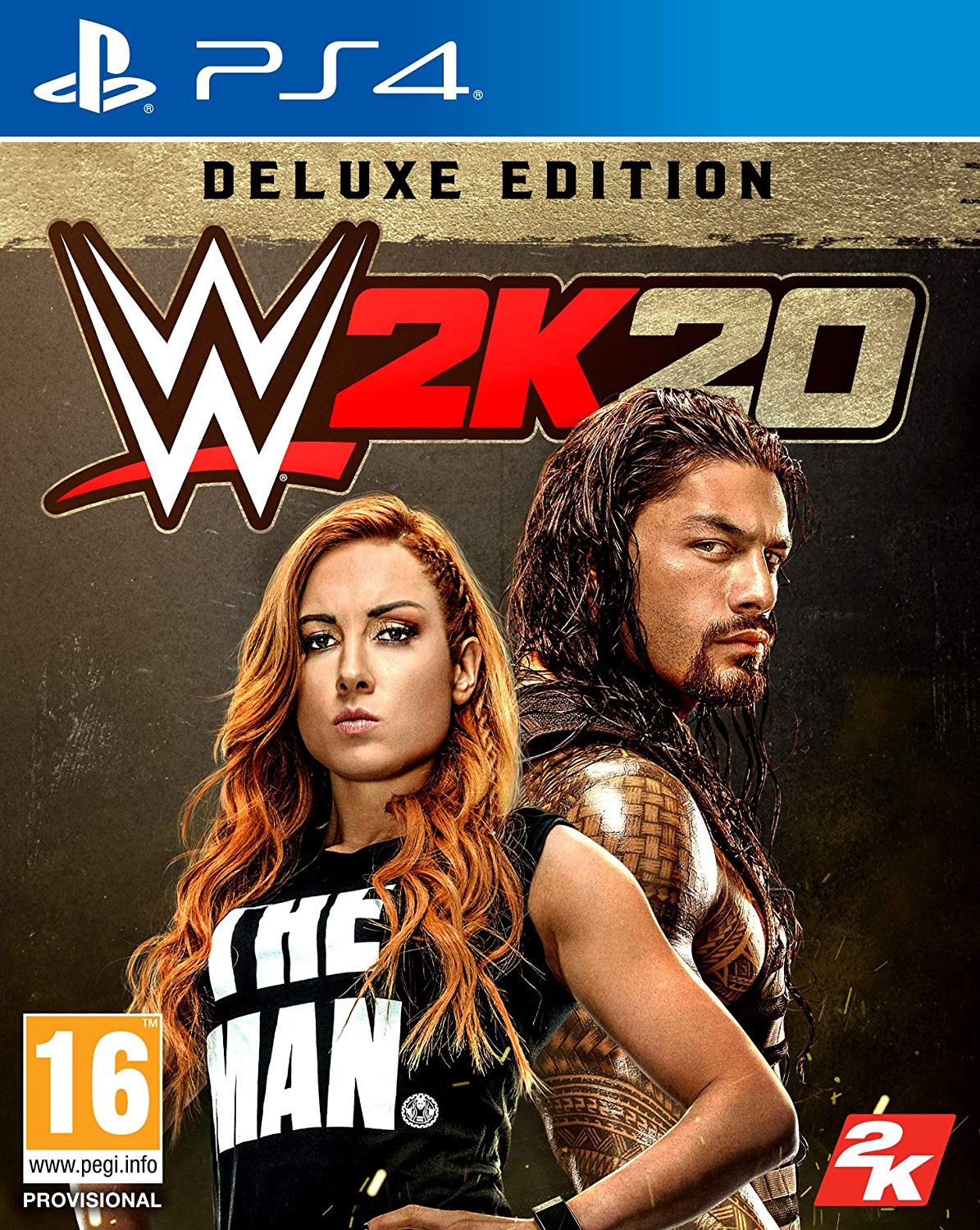 WWE 2K20 Deluxe Edition - PlayStation 4 Játékok