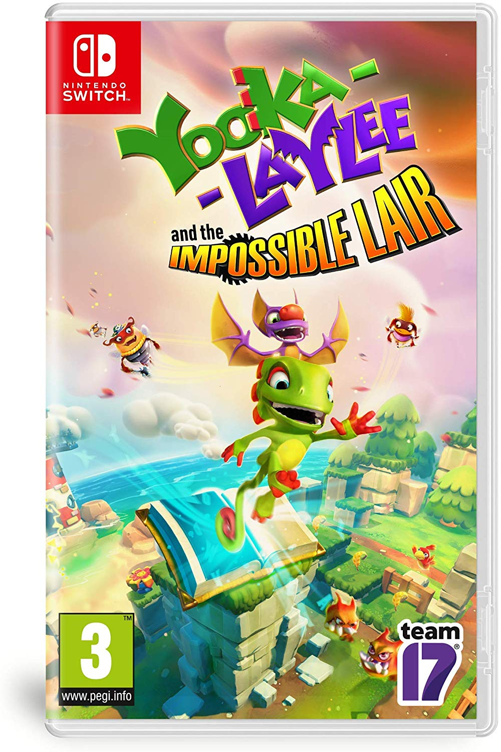 Yooka Laylee and the Impossible Lair - Nintendo Switch Játékok