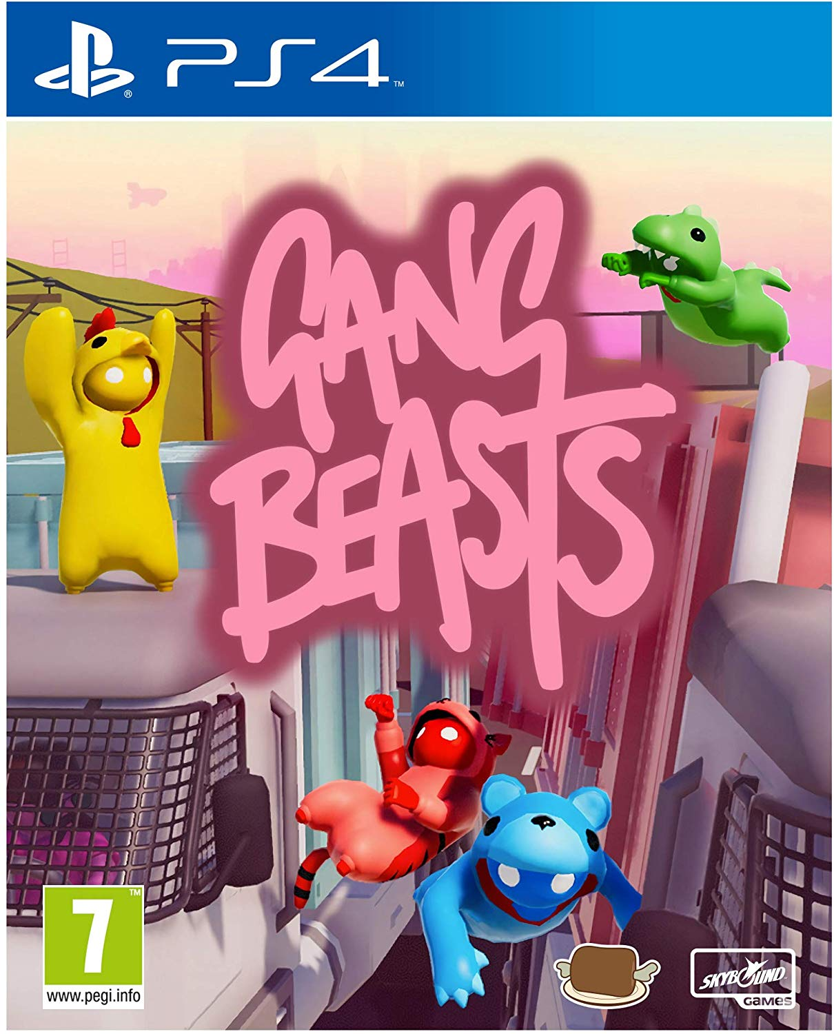 Gang Beasts - PlayStation 4 Játékok