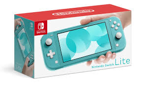 Nintendo Switch Lite (Turquoise) + 64gb