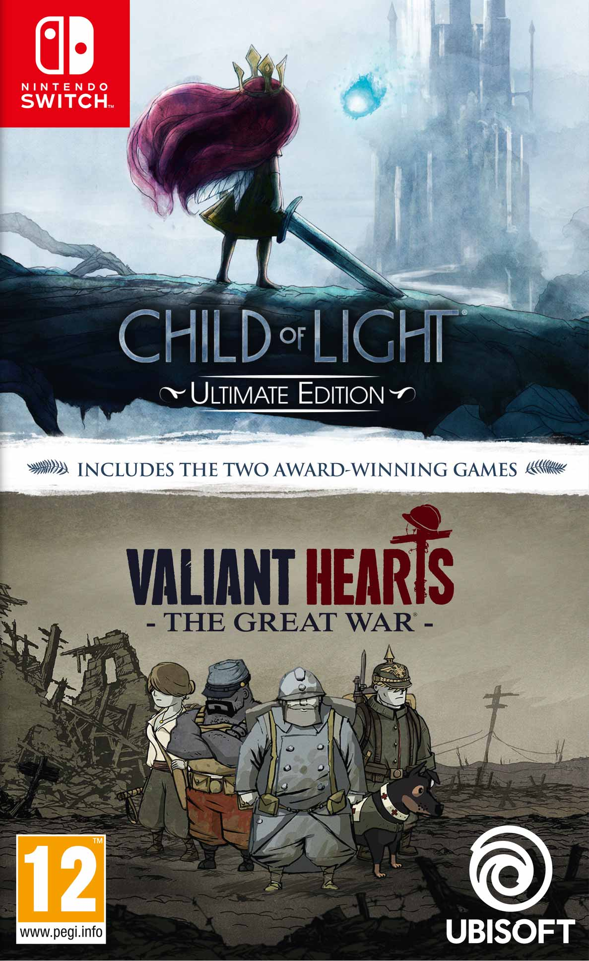 Child Of Light Ultimate Edition + Valiant Hearts The Great War