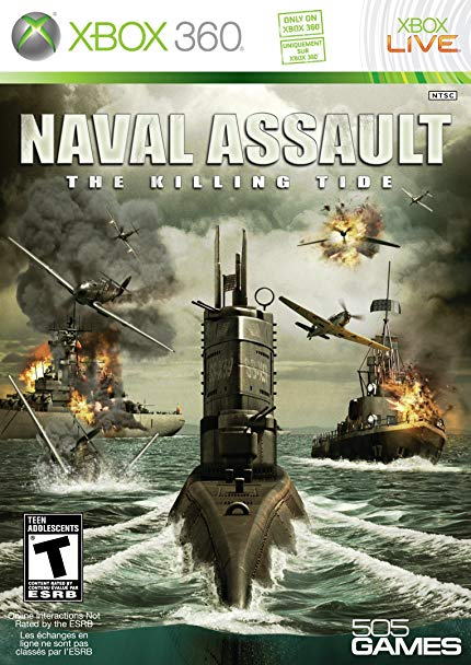 Naval Assault The Killing Tide - Xbox 360 Játékok
