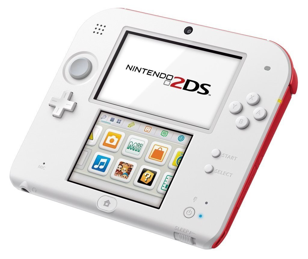 Nintendo 2DS White/Red