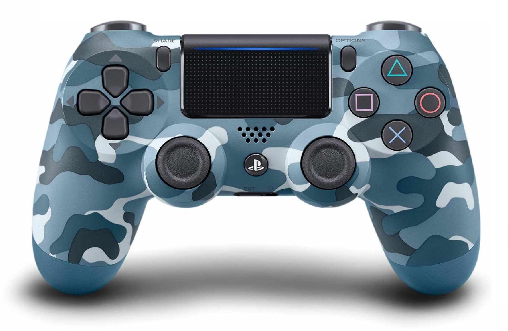 Dualshock 4 V2 Wireless Controller Blue Camouflage