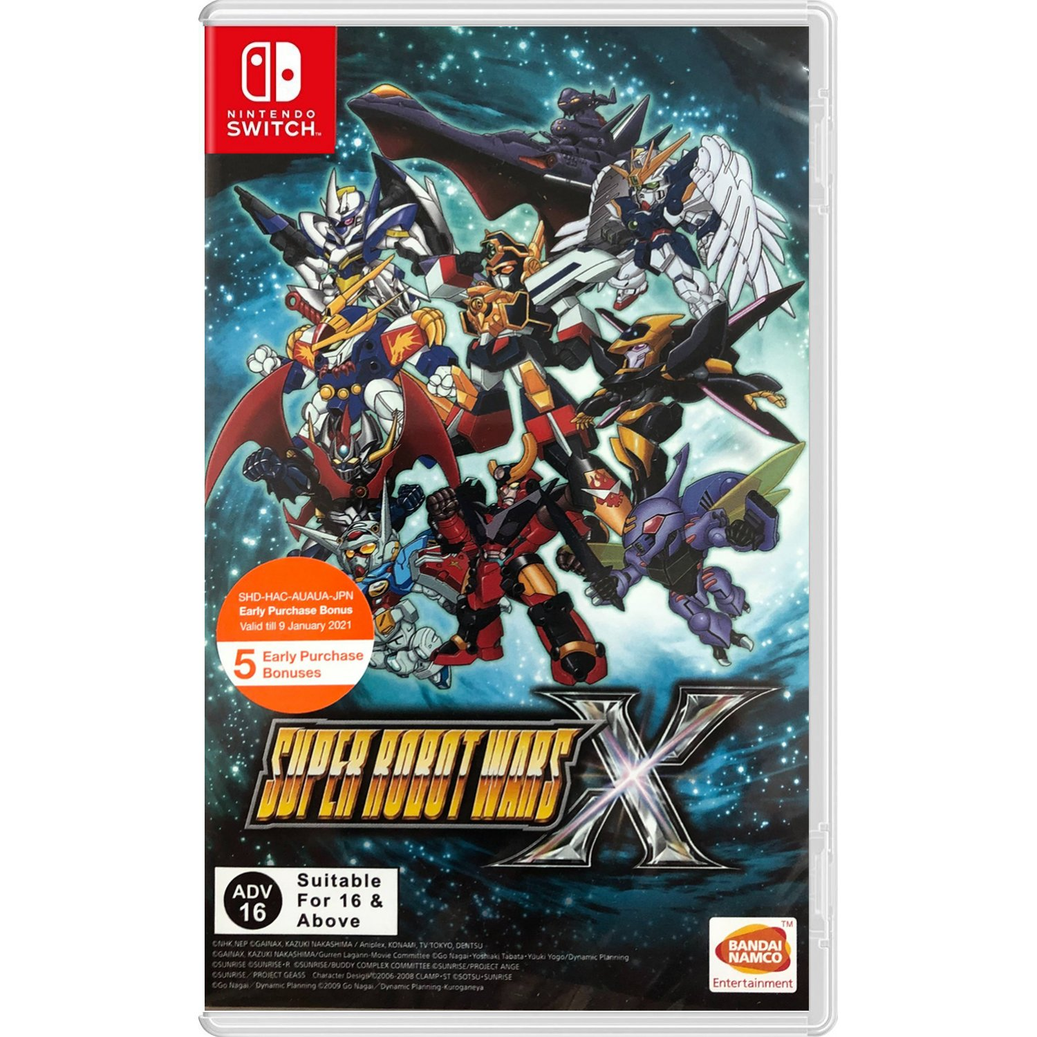 Super Robot Wars X (multi-language) - Nintendo Switch Játékok
