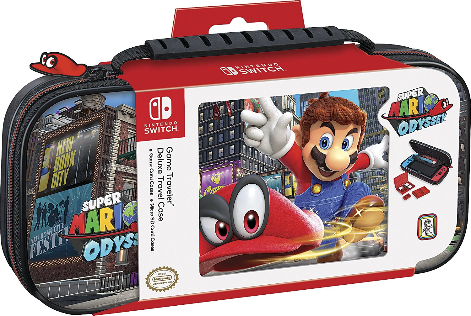 Super Mario Odyssey Deluxe Nintendo Switch Travel Case