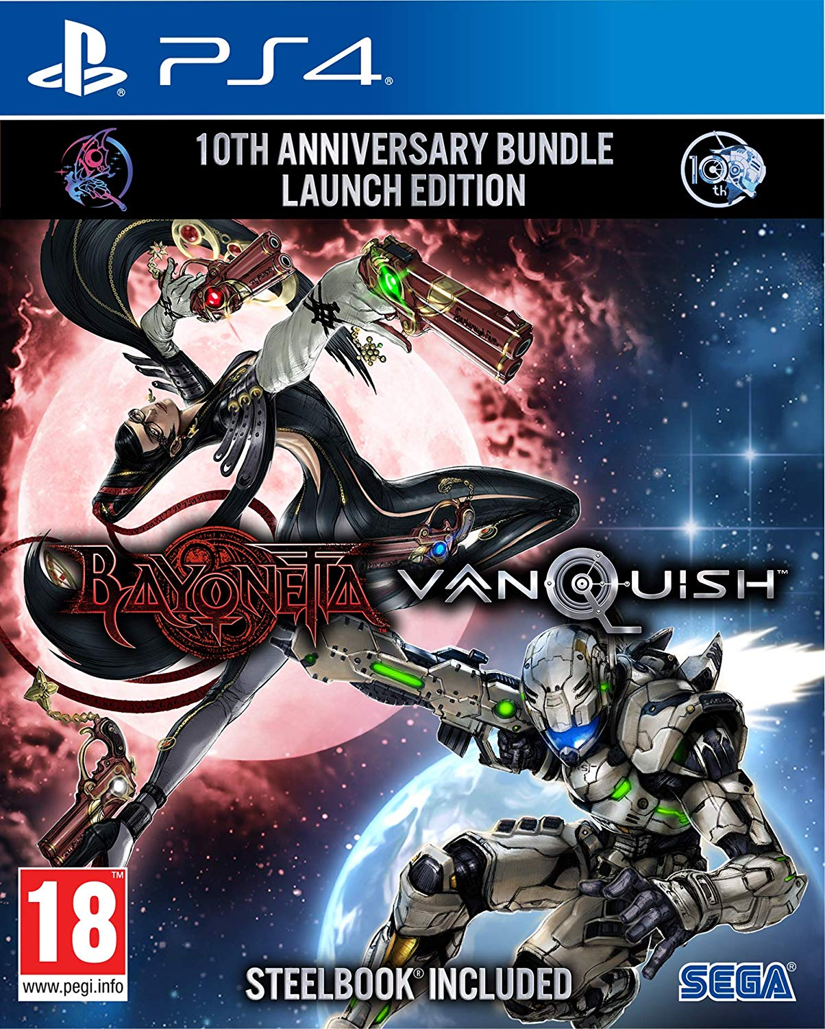 Bayonetta Vanquish 10th Anniversary Bundle (Steelbook Edition)