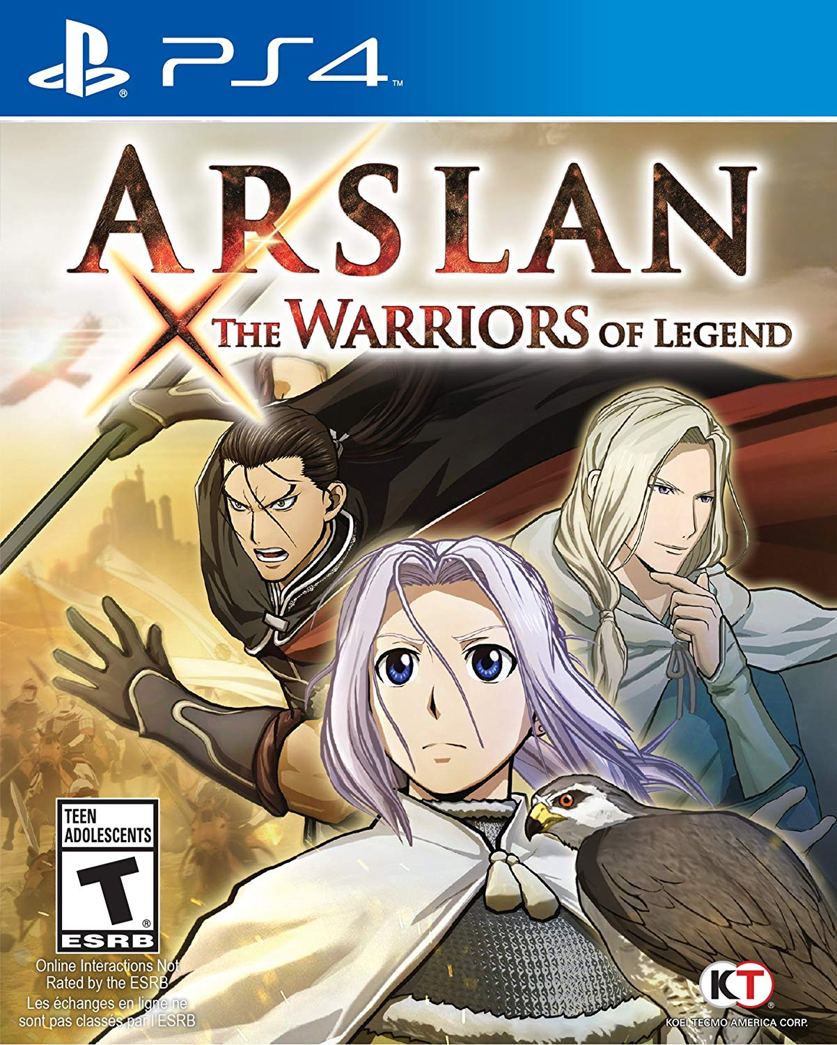 Arslan The Warriors of Legend - PlayStation 4 Játékok