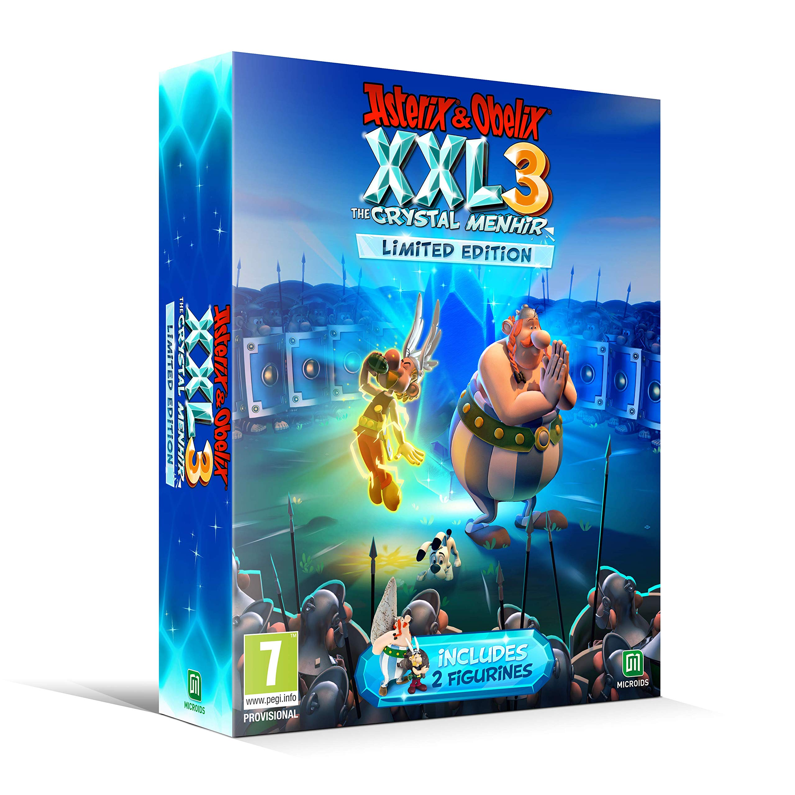 Asterix & Obelix XXL 3 The Crystal Menhir Limited Edition - PlayStation 4 Játékok