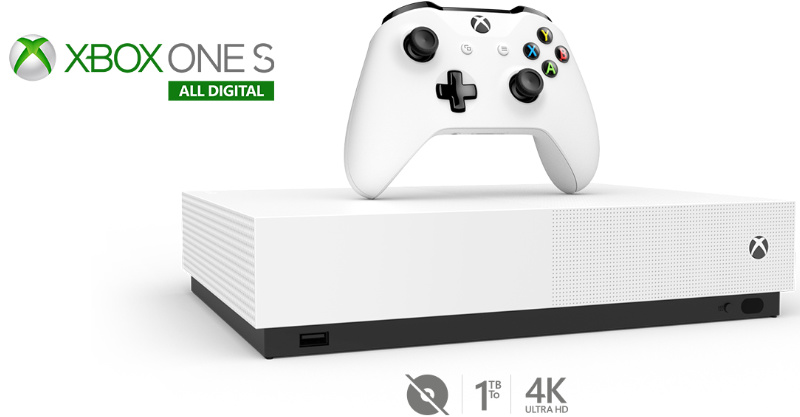 Xbox One S 1TB All Digital