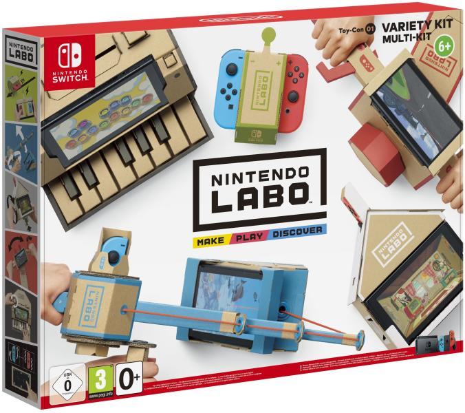 Nintendo Labo Toy-Con 01 Variety kit Multy kit