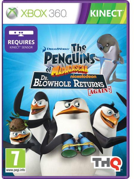 The Penguins of Madagascar Dr Blowhole Returns Again