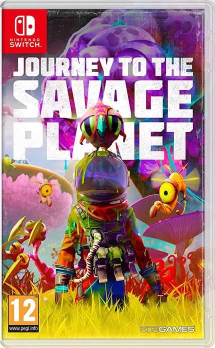 Journey to the Savage Planet - Nintendo Switch Játékok