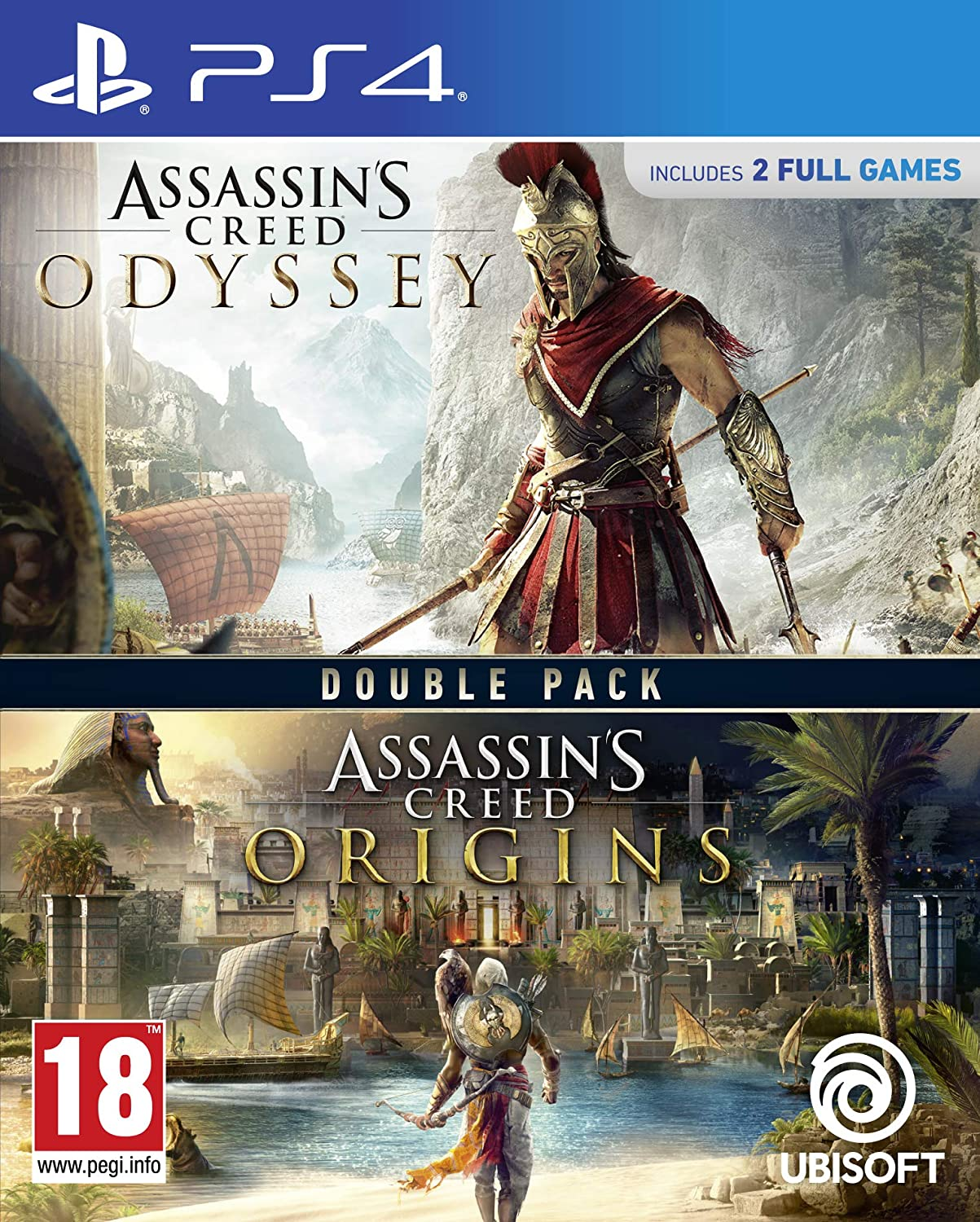 Assassins Creed Origins + Odyssey Pack