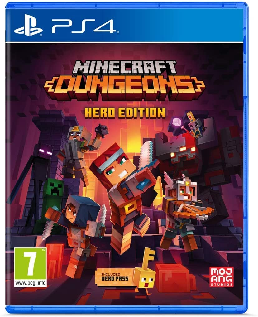 Minecraft Dungeons Hero Edition - PlayStation 4 Játékok