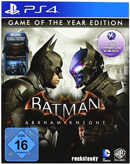 Batman Arkham Knight game of the year