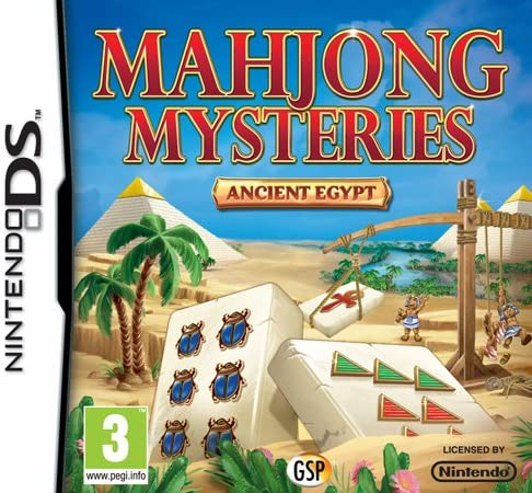 Mahjong Mysteries Ancient Egypt - Nintendo DS Játékok