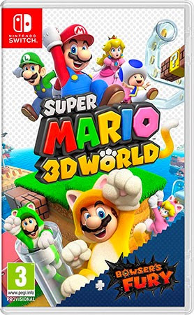 Super Mario 3D World + Bowsers Fury