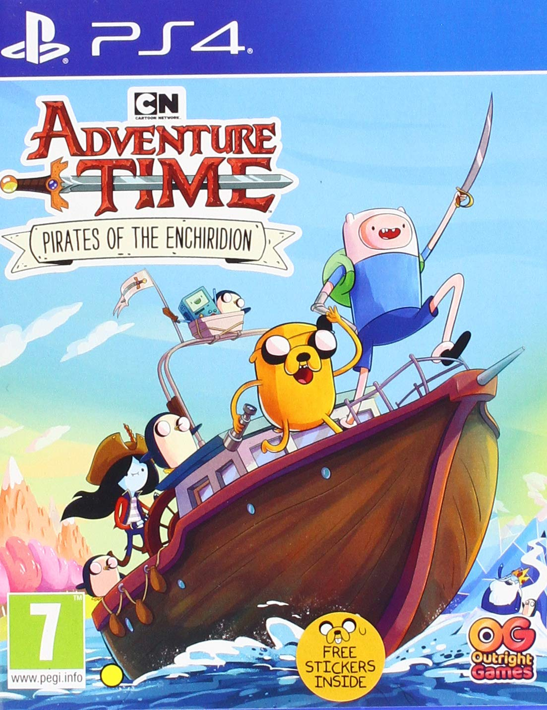 Adventure Time Pirates of the Enchiridion - PlayStation 4 Játékok