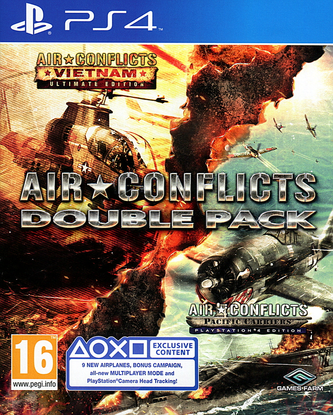Air Conflicts Double Pack - PlayStation 4 Játékok