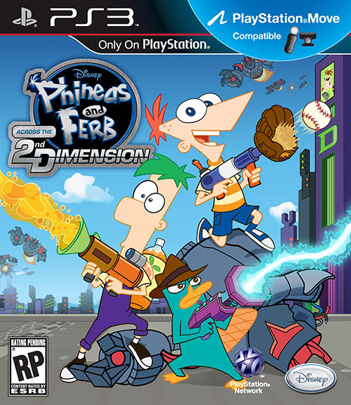 Phineas and Ferb Across the 2Dimension