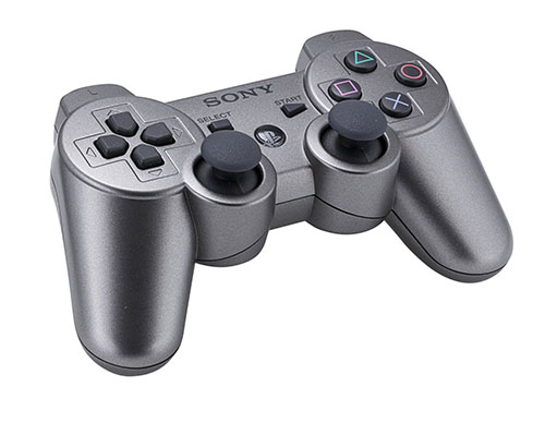 Sony Playstation 3 Dualshock 3 Wireless Controller Silver