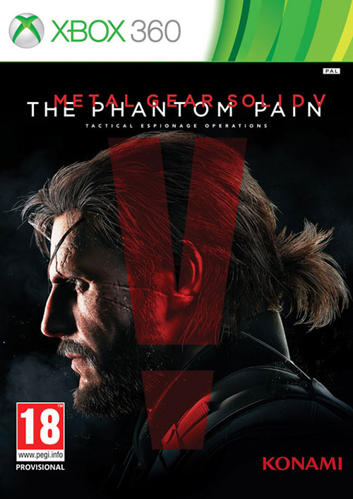 Metal Gear Solid 5 The Phantom Pain Day One Edition - Xbox 360 Játékok