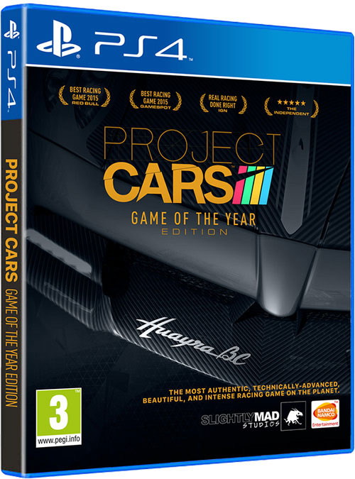 Project Cars Game of the Year Edition - PlayStation 4 Játékok