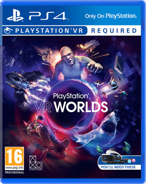 Playstation VR Worlds PSVR