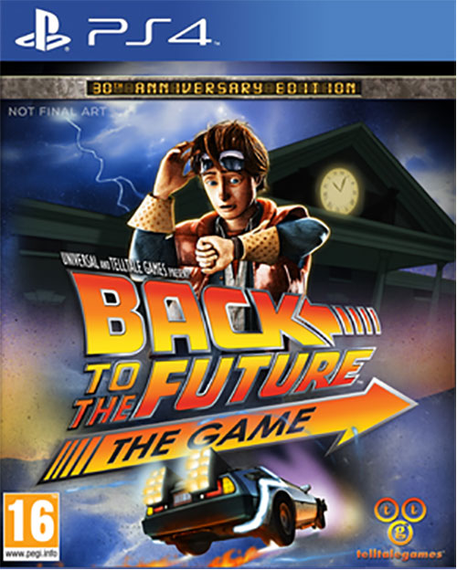 Back to the Future The Game 30th Anniversary Edition  - PlayStation 4 Játékok