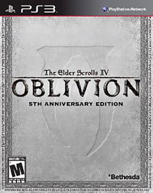 The Elder Scrolls IV Oblivion 5th Anniversary Ed.