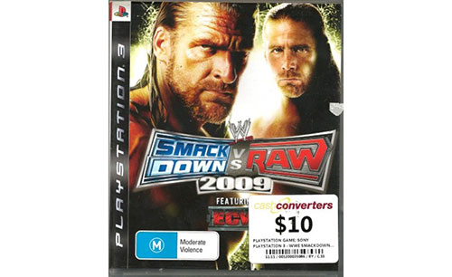Smackdown RAW 2009 - PlayStation 3 Játékok