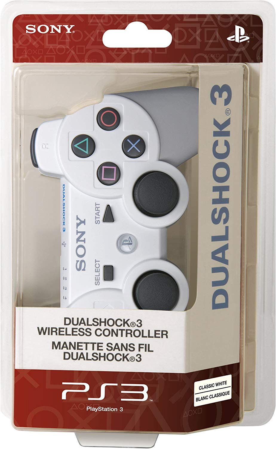PS3 Dualshock 3 Wireless Controller Fehér